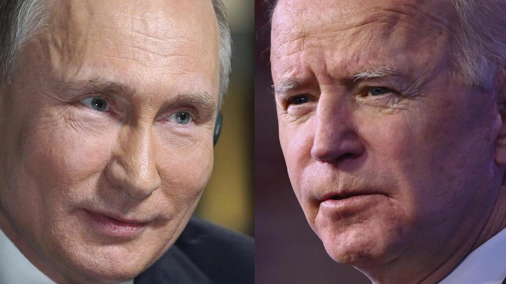 الرئيسان جو بايدن وفلاديمير بوتين