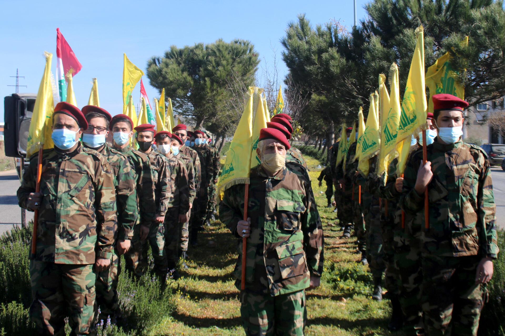 hezbollah liban 13 02 2021