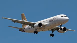 طائرة تابعة للخطوط الجوية الليبية