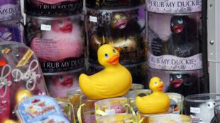 متجر ألعاب جنسية في مدينة ليون الفرنسية