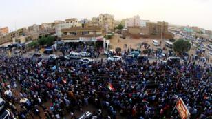 الاحتجاجات متواصلة في الخرطوم