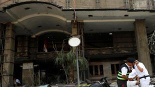 صورة بعد حادث الانفجار في القاهرة