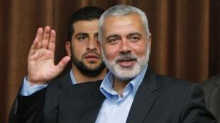 رئيس المكتب السياسي لحركة حماس إسماعيل هنية /