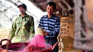 صناعة البخور في الصين