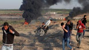 أحداث قطاع غزة يوم الأرض