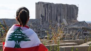 في موقع انفجار مرفأ بيروت