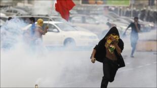 من الاحتجاجات الشعبية التي شهدها البحرين مطلع عام 2011