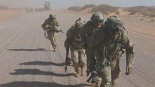 مناورات أمريكية في موريتانيا