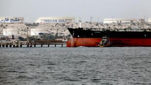 ناقلة إيرانية في الخليج الفارسي