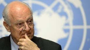 مبعوث الأمم المتحدة لمحادثات السلام السورية ستافان دي ميستورا