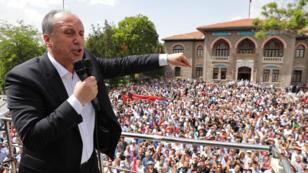 مرشح حزب الشعب الجمهوري التركي المعارض محرم اينجه