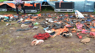 مخلفات تدافع مسيحيون في كنيسة في تنزانيا خلفت قتلى