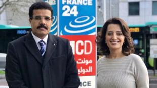 إيمان الحمود مع د.محمد جميح ممثل اليمن لدى منظمة اليونسكو