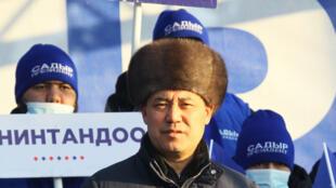صدر جاباروف في مدينة توكموك