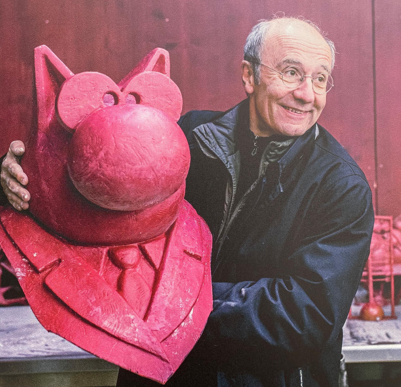 الفنان البلجيكي فيليب جيلوك