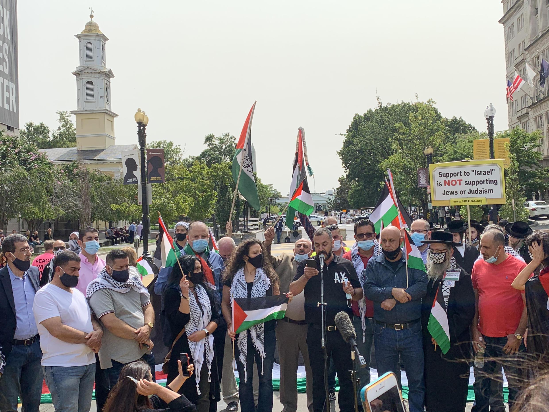 palestiniens washington
