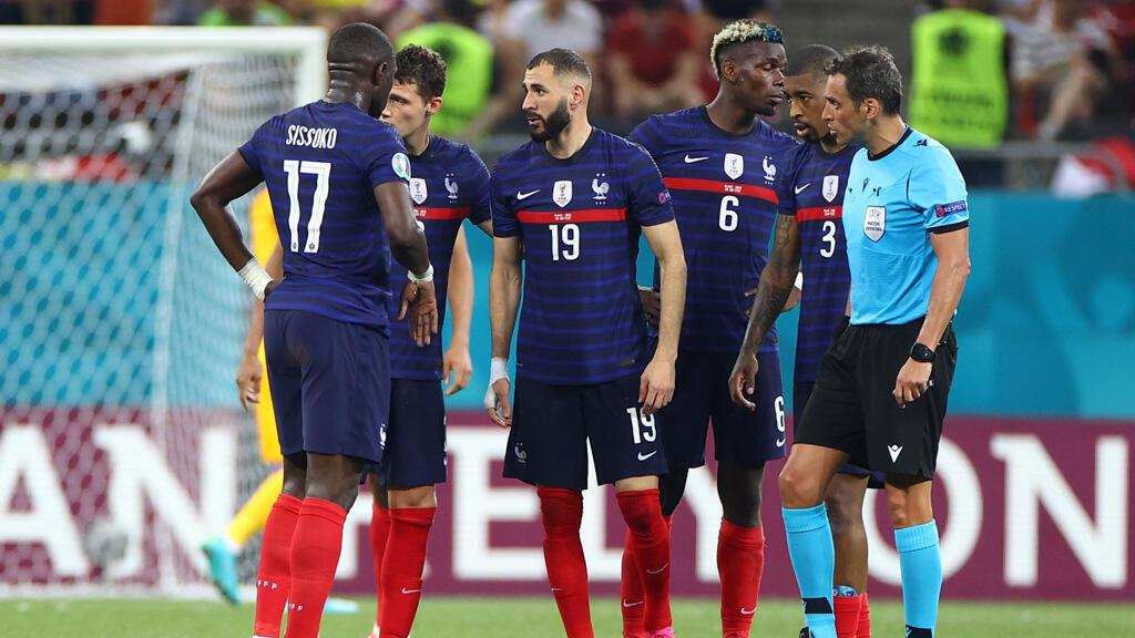 أعضاء المنتخب الفرنسي لكرة القدم