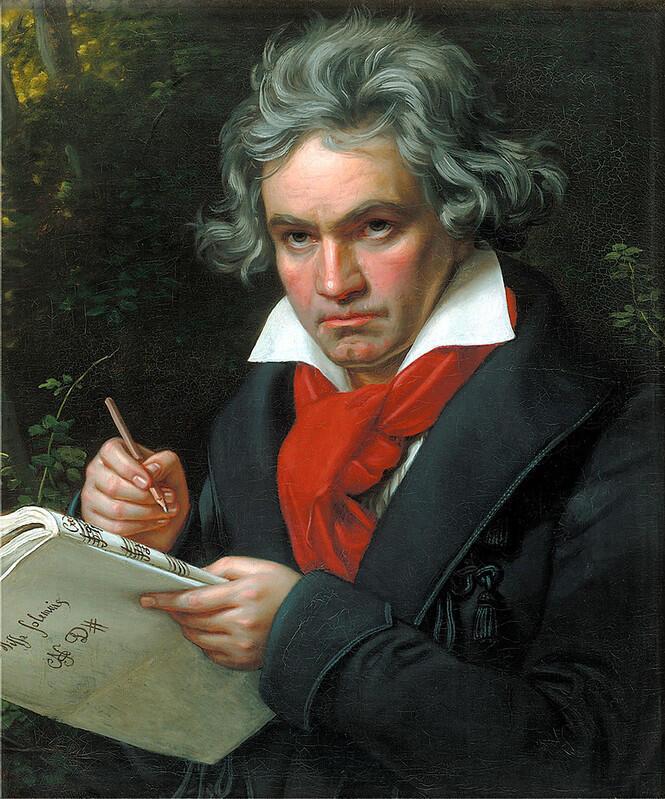 الموسيقي الشهير، بيتهوفن