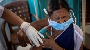 حملة تلقيح  ضد فيروس كورونا في الهند