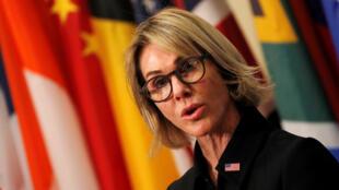 السفيرة الأميركية كيلي كرافت