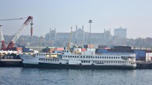 ميناء اسطنبول في تركيا