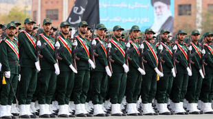 من عرض للحرس الثوري الإيراني في طهران