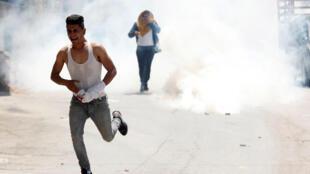 مواجهات بين فليطينيين والجيش الإسرائيلي