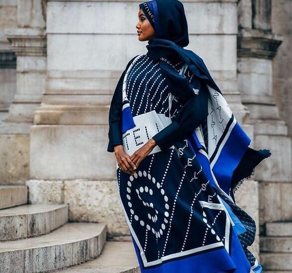 عارضة الأزياء الأمريكية من أصل صومالي، حليمة عدن
