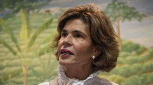 الصحافية كريستيانا شامورو في ماناغوا عاصمة نيكاراغوا
