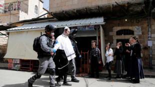 اعتقال أحد اليهود المتشددين