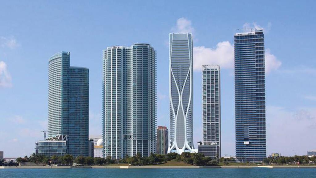 برج من تصميم زها حديد في ميامي