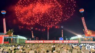 احتفالات كوريا الشمالية بالتجربة النووية