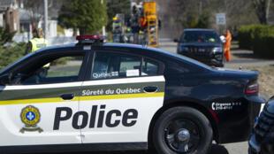 الشرطة الكندية في إقليم كيبيك