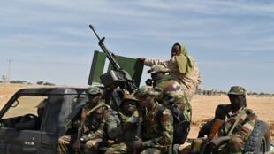 عسكريون نيجيرون- النيجر