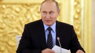 الرئيس الروسي فلاديمير بوتين -