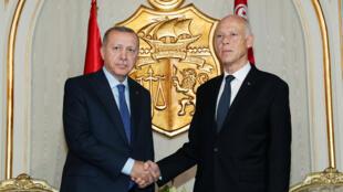 الرئيس التونسي والرئيس التركي