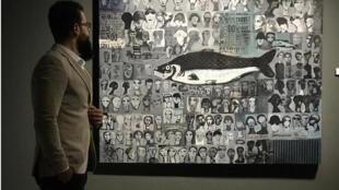 الفنان العراقي حيدر الزعيم