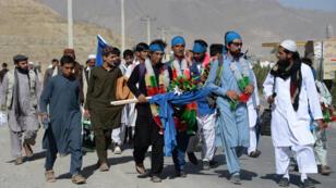 نشطاء أفغان