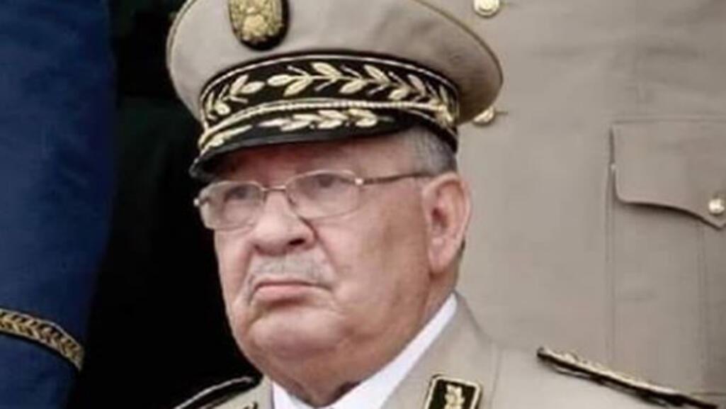 قائد أركان الجيش الجزائري أحمد قايد صالح-فيسبوك