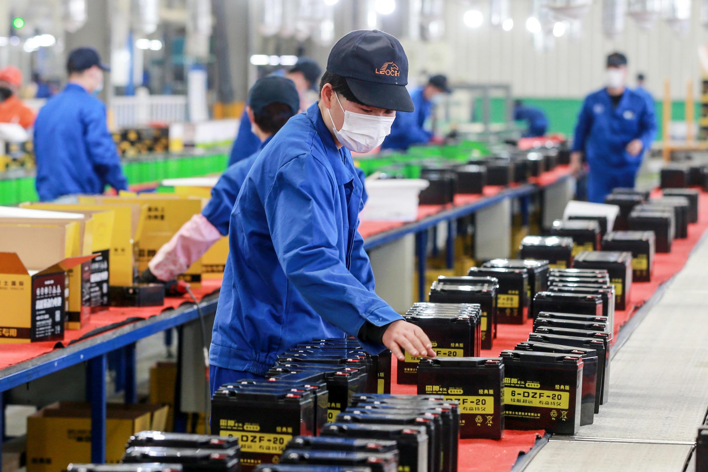 chine usine de batteries