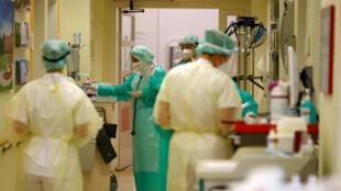 في مستشفى بالعاصمة الألمانية برلين