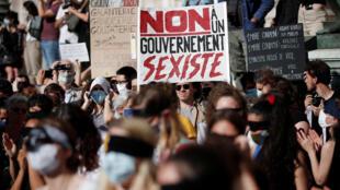 مظاهرات ضد تعيين وزير الداخلية الجديد جيرالد دارمانان