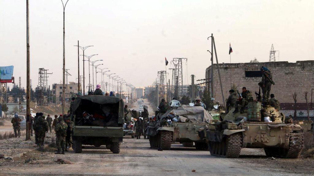 المعارك في سوريا
