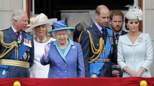 العائلة المالكة البريطانية