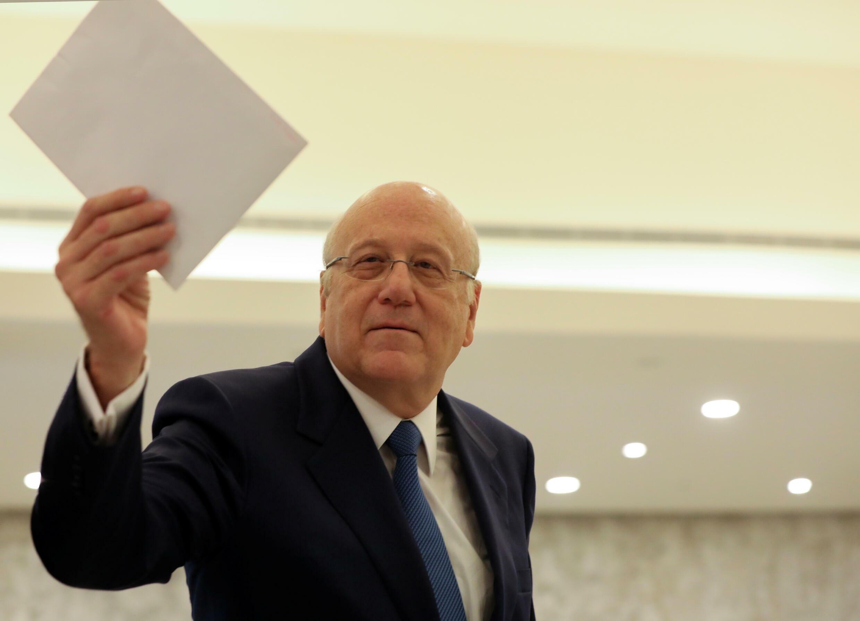 رئيس الوزراء اللبناني نجيب ميقاتي