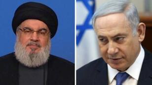 Benyamin_-Netanyahou_hassane_nassr_allah_afp