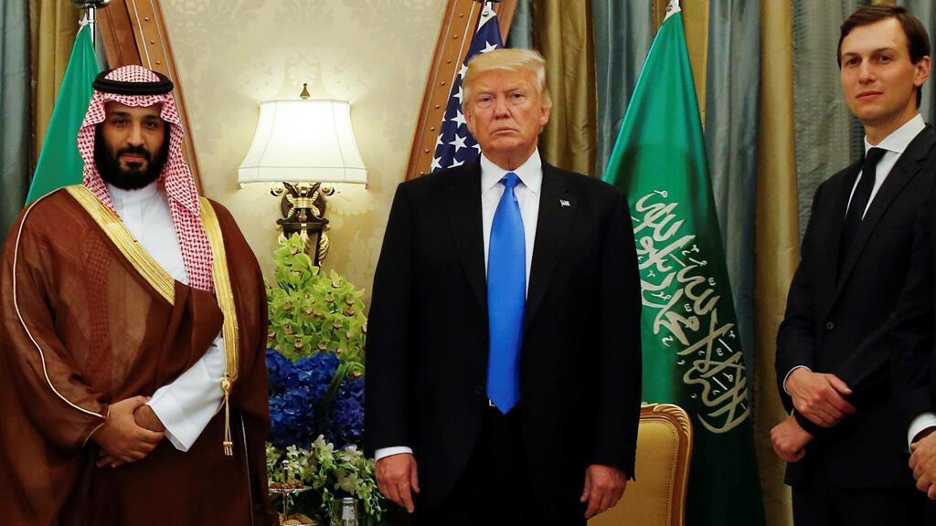 الرئيس ترامب يلتقي بنائب ولي العهد السعودي الأمير محمد بن سلمان في الرياض