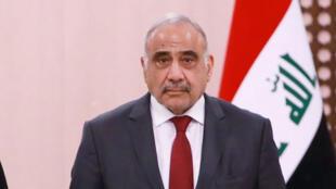 رئيس وزراء العراق عادل عبد المهدي