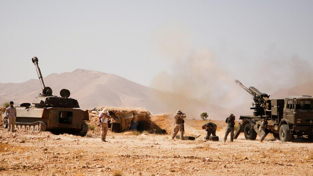 عناصر من حزب الله اللبناني في القلمون الغربي, سوريا