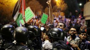 إحتجاجات في الأردن